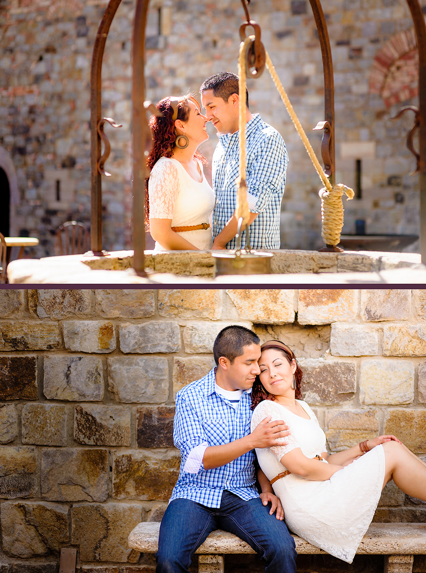 Napa Valley Engagement, Castello di Amorosa